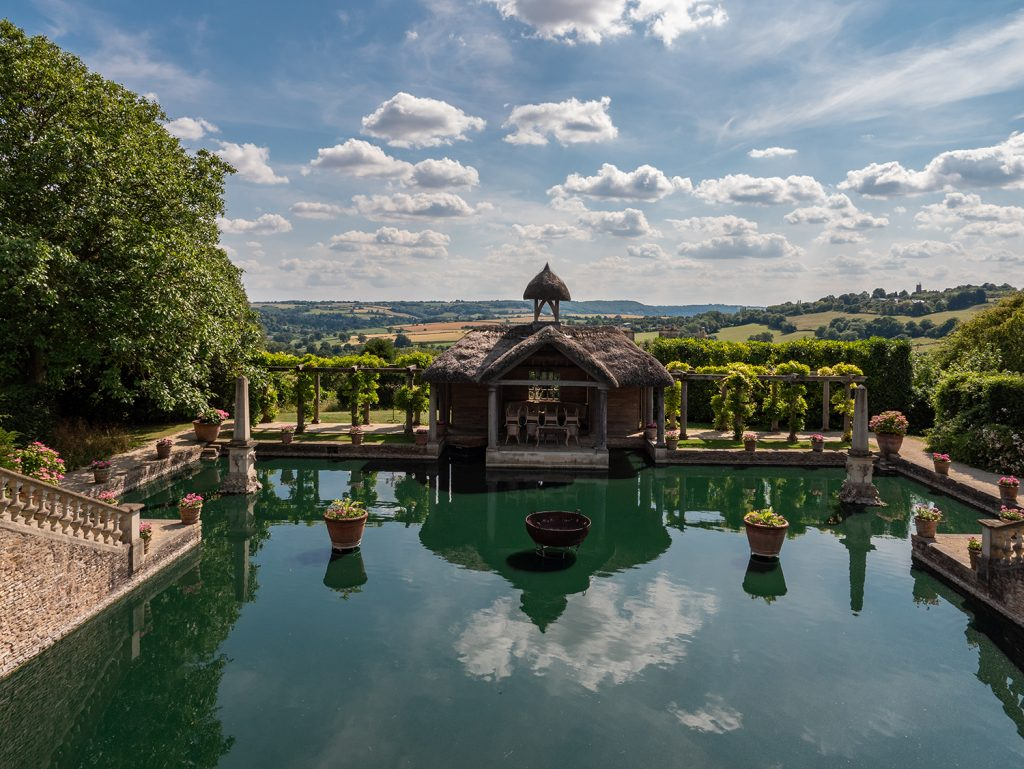 The Lost Orangery exterior Luxury Cotswold Rentals