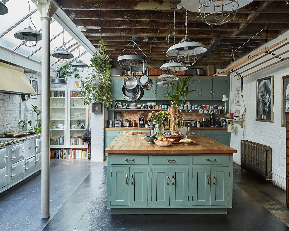 An Eclectic Former Print House in London