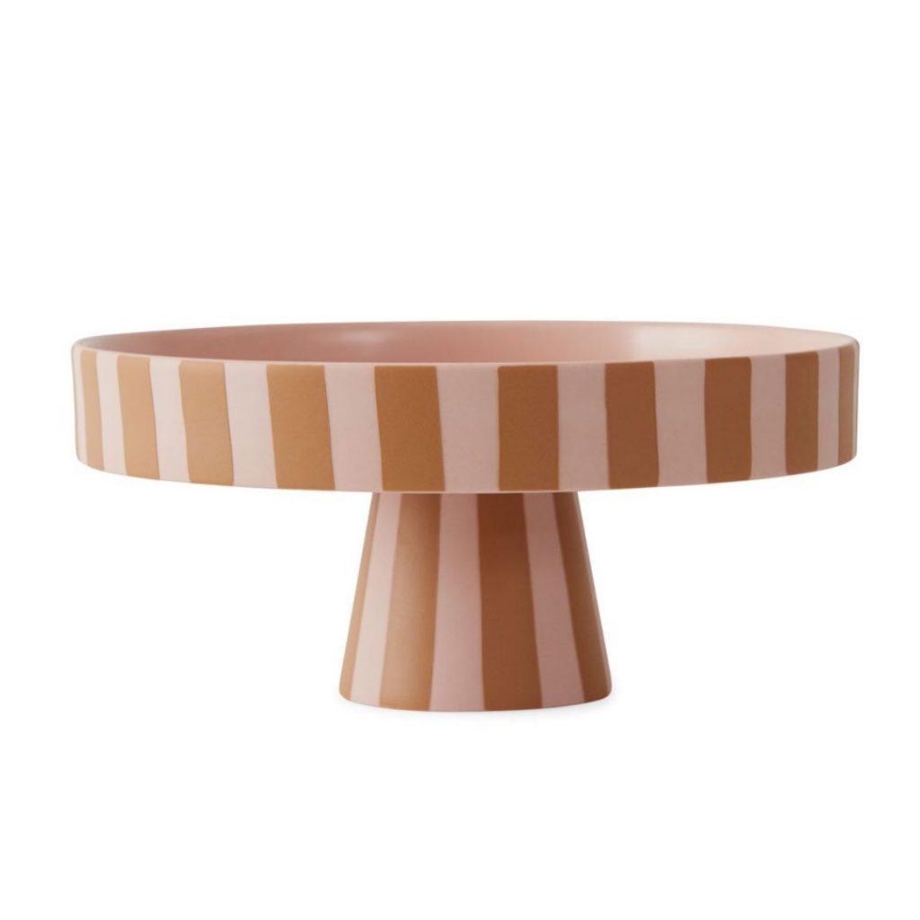 Ceramic-Toppu-tray-in-caramel,-£46,-Folk-Interiors