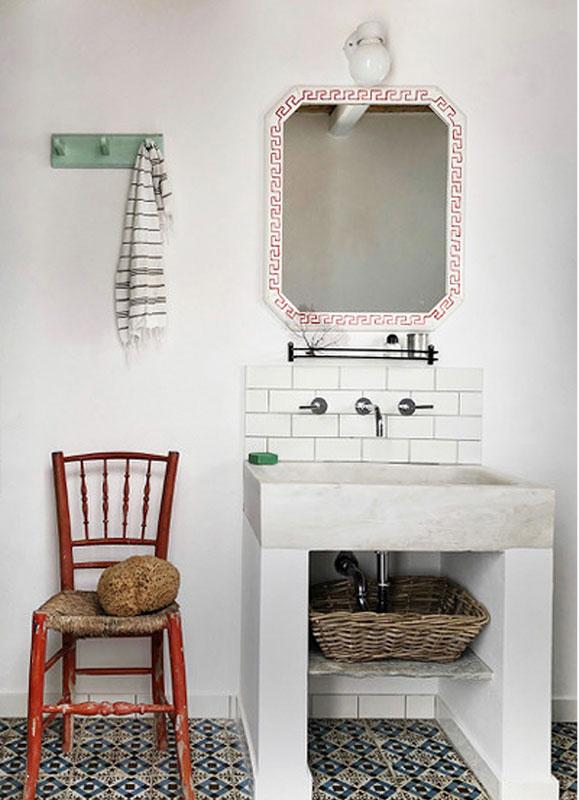 Harbour House, Serifos, Greece,  bathroom
