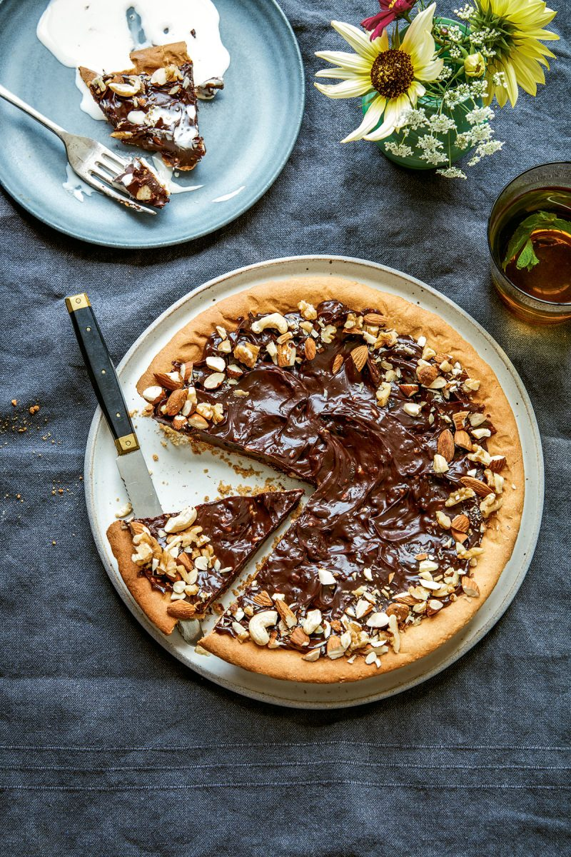 Fruit and nut tart from Home Bird by Megan Davies