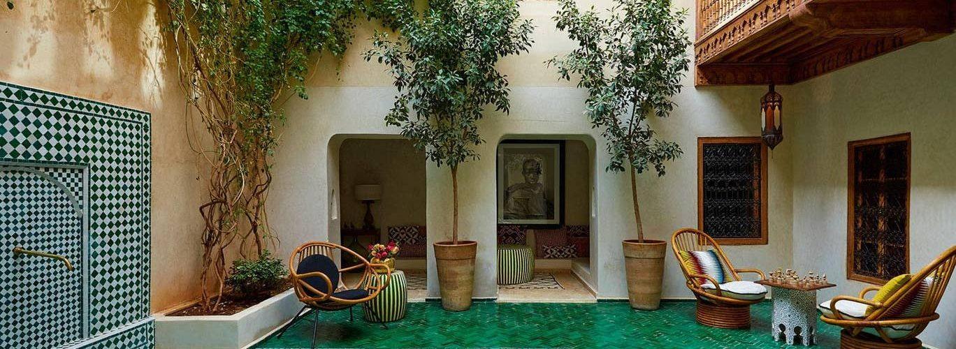 El Fenn Marrakech annex pool