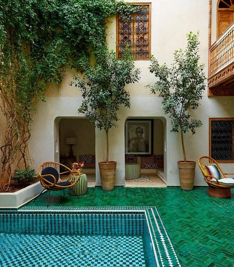 El Fenn Marrakech annex pool