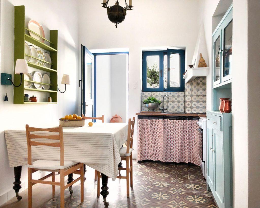 Harbour House, Serifos, Greece, kitchen