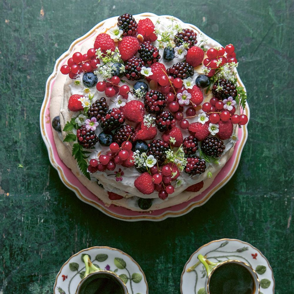 Skye McAlpine's Summer Berry Cloud Cake