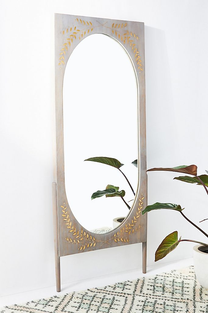 Anthropologie Marta Floor Mirror
