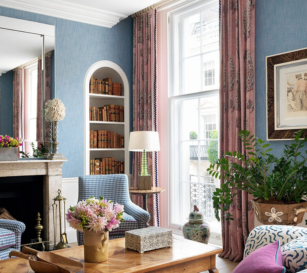 Interior Designer Kit Kemp on How to Choose Curtains