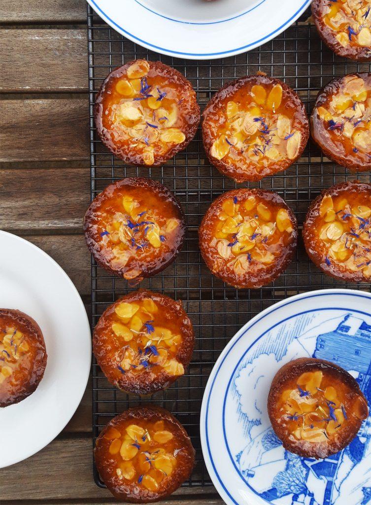 Lemon and Earl Grey Friands c. Rachel Stonehouse, Luminary Bakery