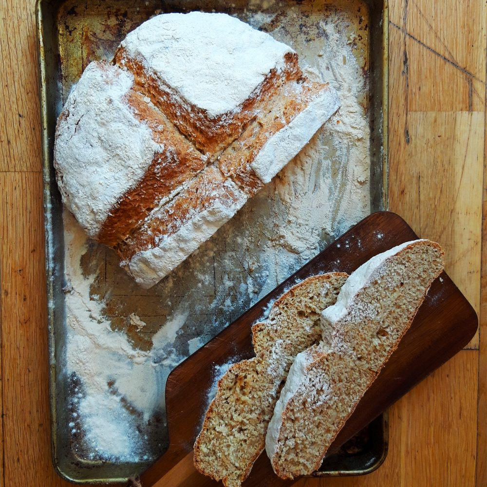 Luminary Bakery's Roasted Garlic Irish Soda Bread
