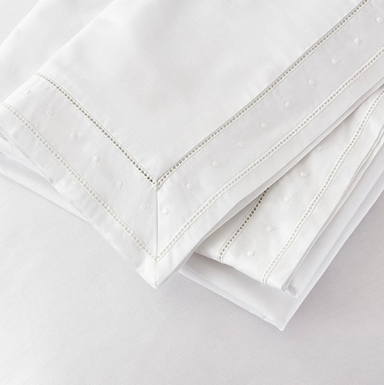 Camille bed linen The White Company