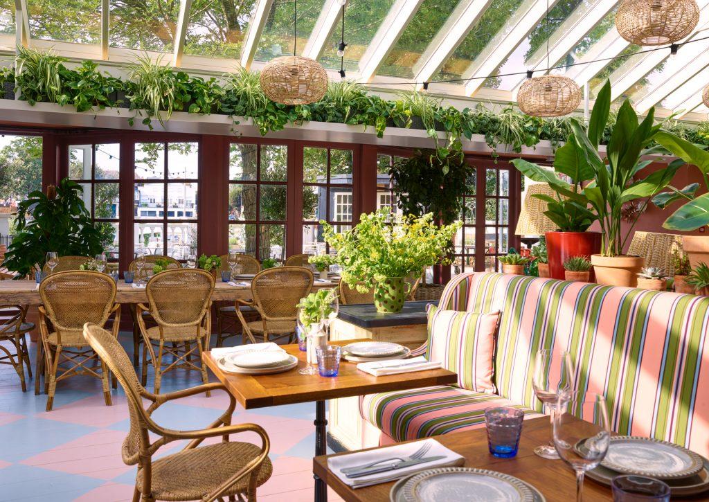 The Orangery The Mitre Hotel Hampton Court