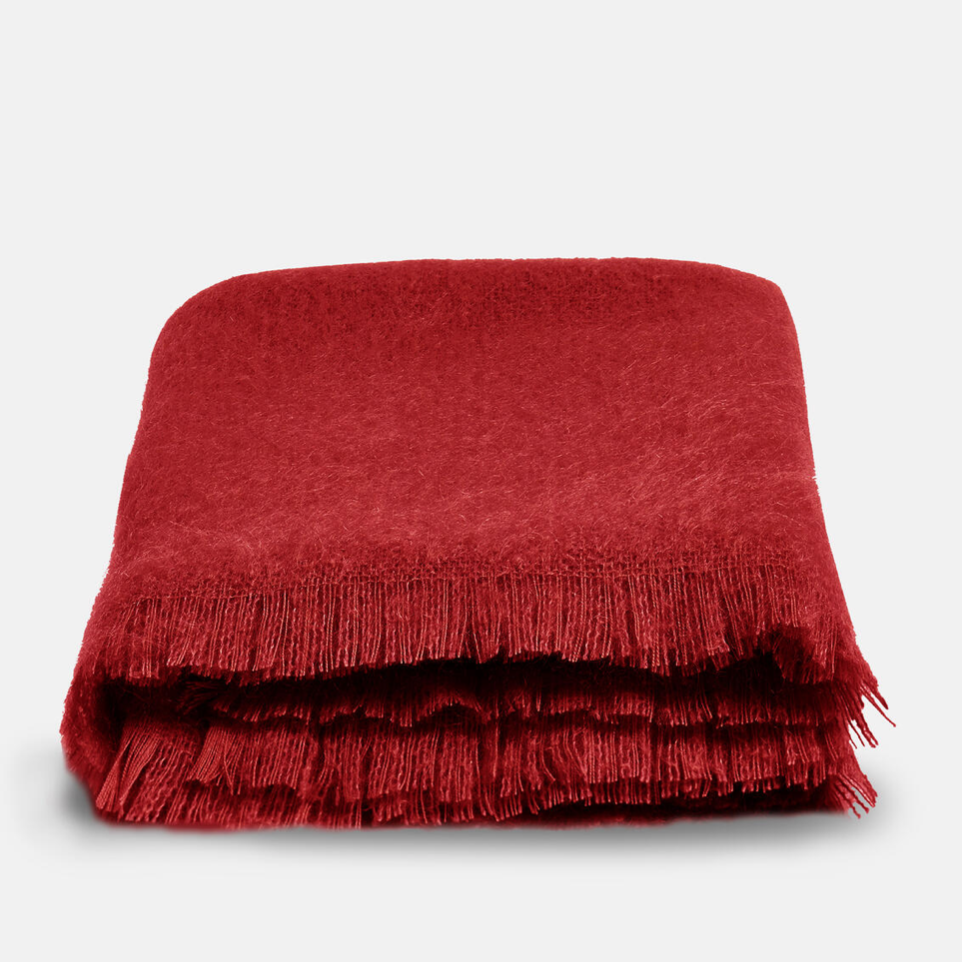 Alba Mohair Throw, £45, Soho Home