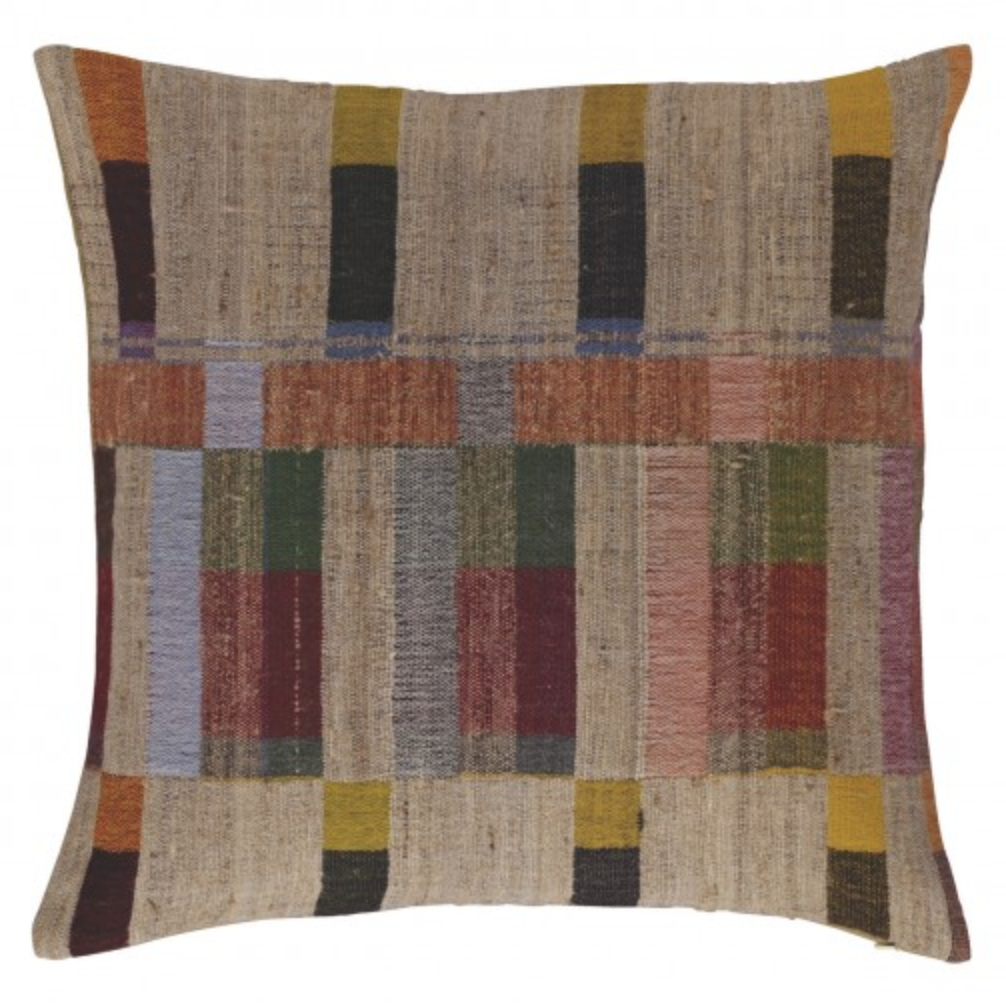 Edric Handwoven Cushion, £40, Habitat