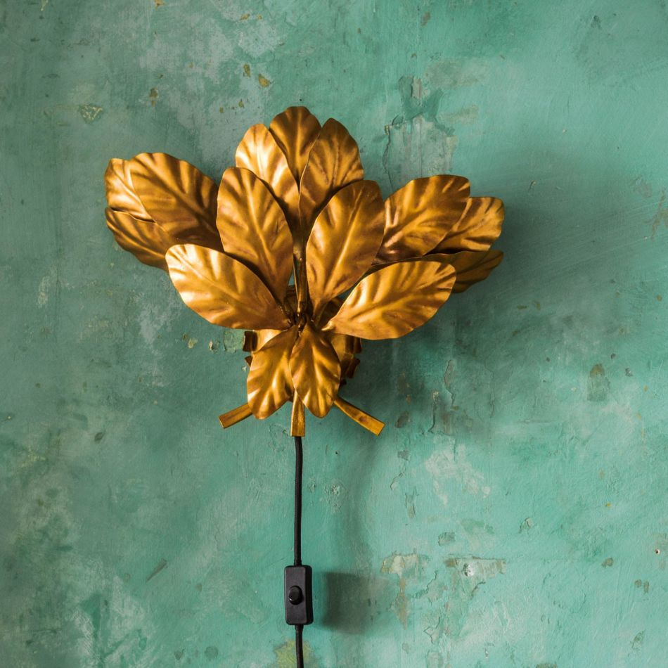 Leaves wall sconce Graham & Green