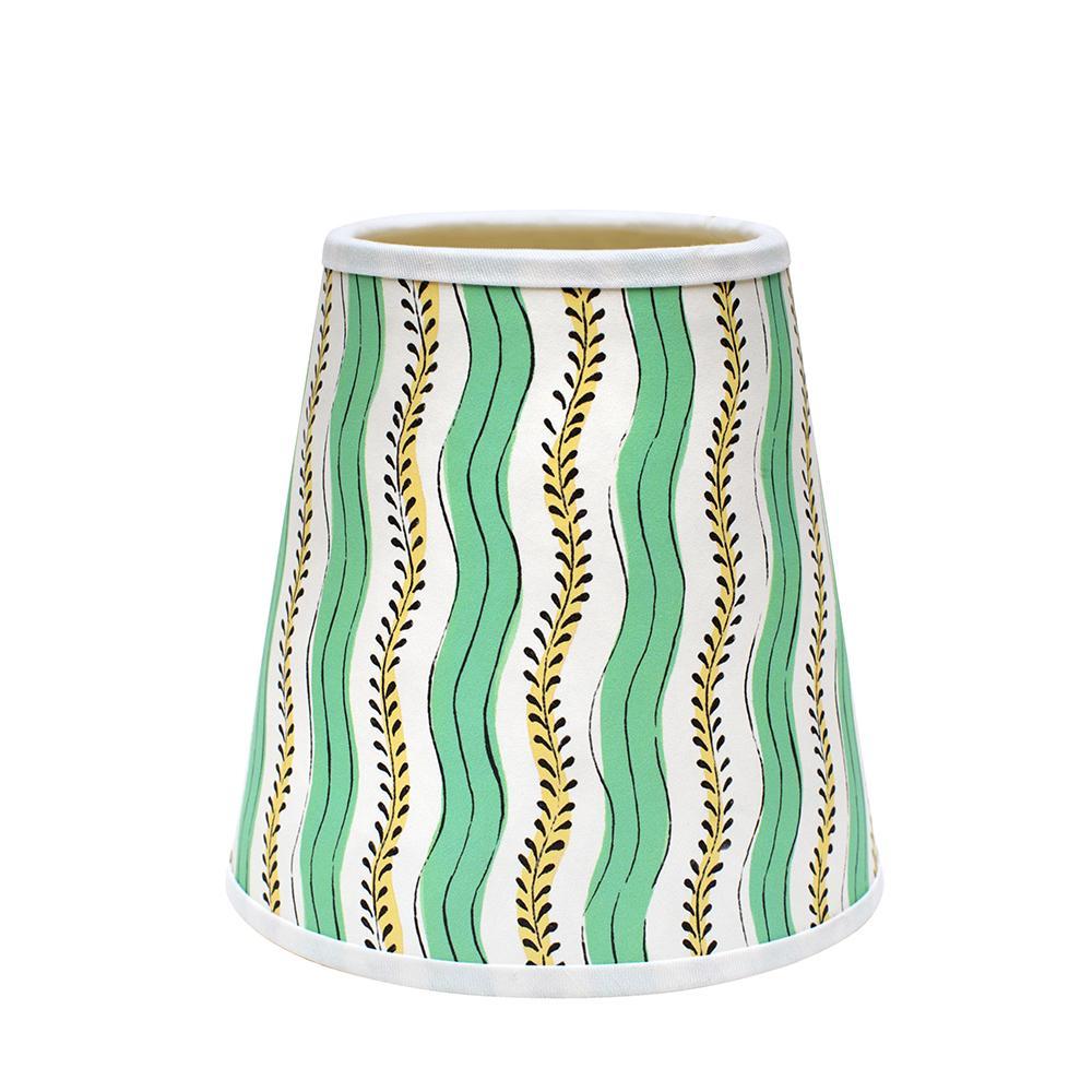 Mint Green Stripe Lamp Shade Rosie de Ruig