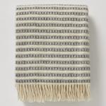 Olle Lambswool Blanket, £85, Toast