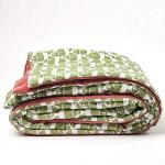 Pink Crinkle Printed Bedspread, £135, Oliver Bonas