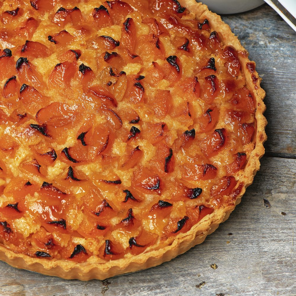 Carole Bamford's Apricot & Almond Tart
