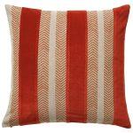 Valmiera cotton and velvet cushion, £60, Oka
