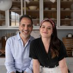 Yotam Ottolenghi and Ixta Belfrage portrait-by-Jonathan-Lovekin for Ottolenghi Flavour cookbook