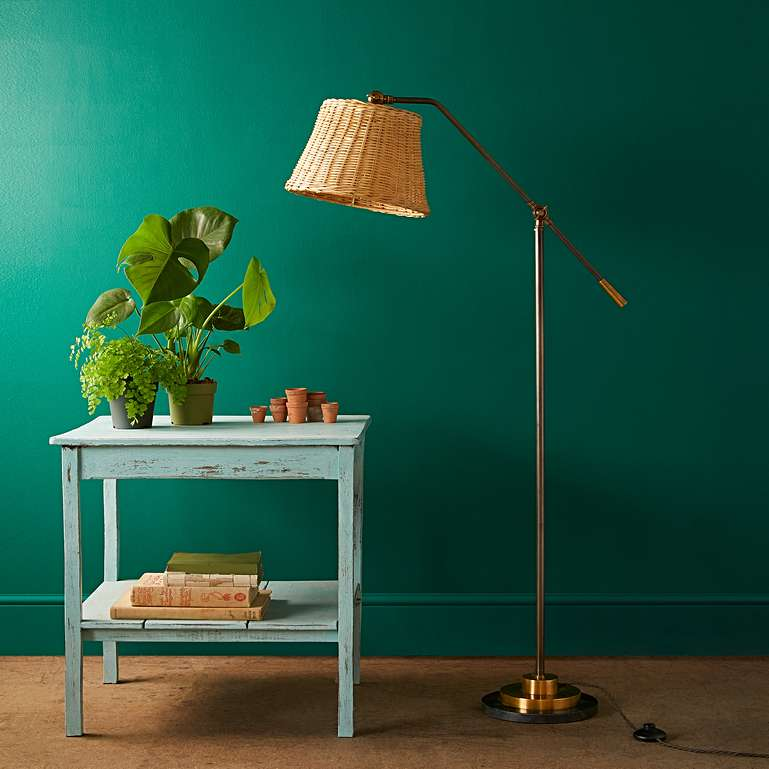 Ned standing lamp, £270, Pooky