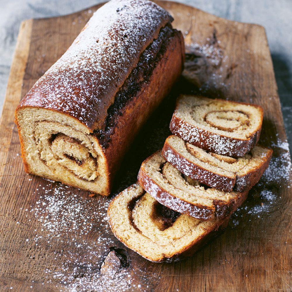 Trine Hahnemann's Cinnamon Swirl Bread