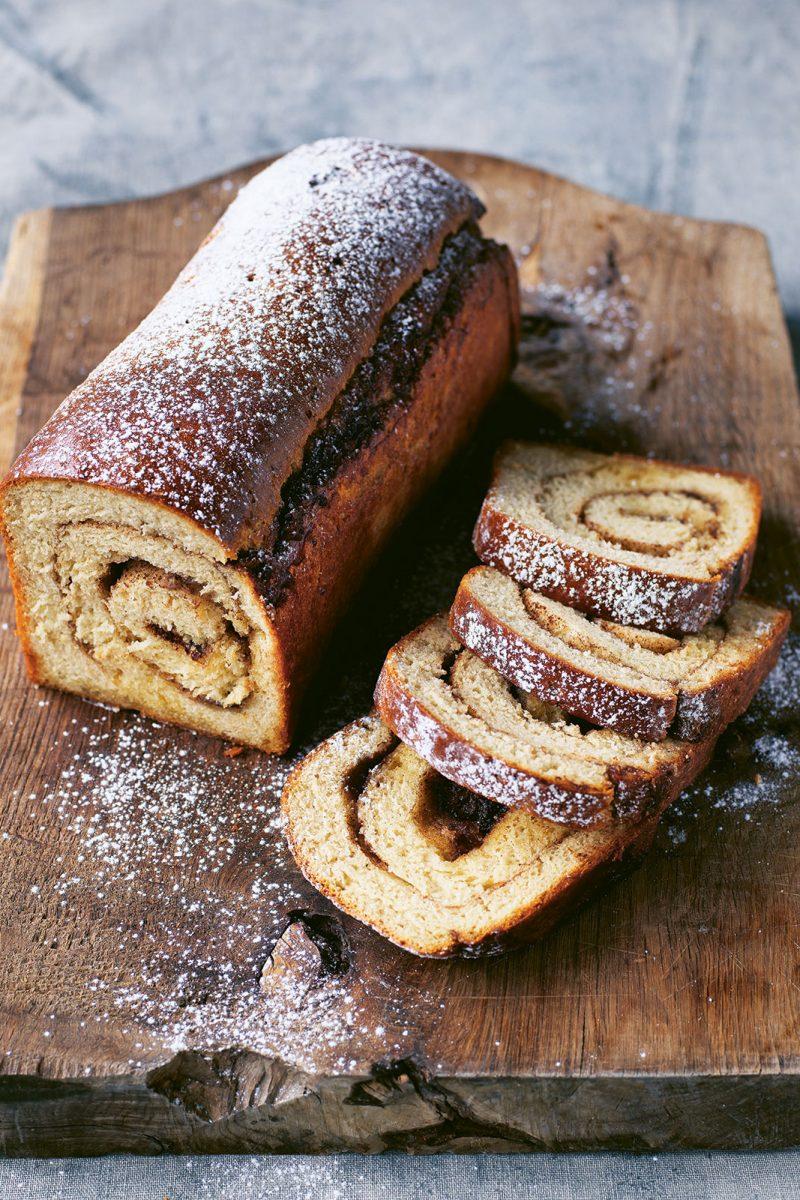 Cinnamon Swirl Bread by Trine Hahnemann from Scandinavian Green © Columbus Leth