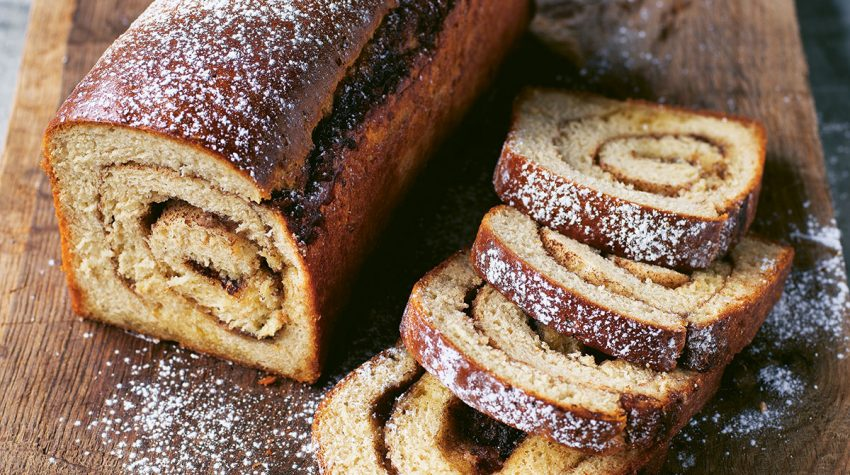 Cinnamon Swirl Bread by Trine Hahnemann from Scandinavian Green © Columbus Leth