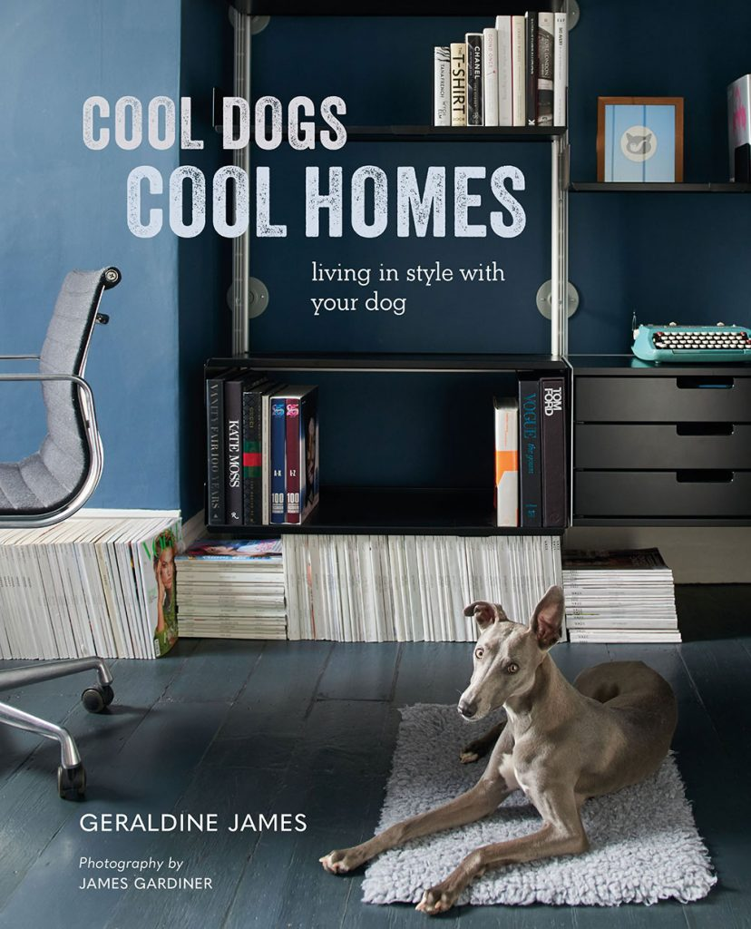 Cool-Dogs-Cool-Homes by Geraldine James book cover