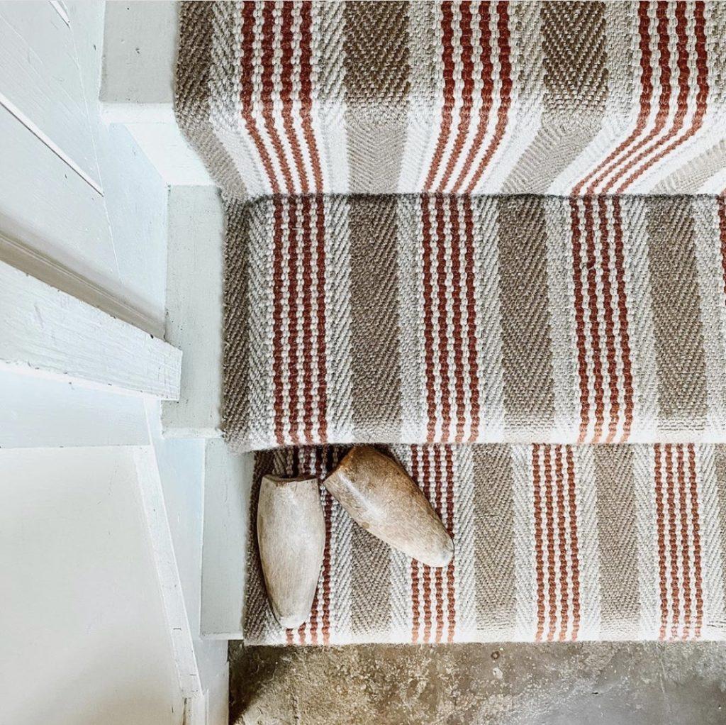 Roger Oates stair runner Sudbury Brick @sisterhouses