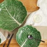 Cabbage earthenware bowl, Bordallo Pinheiro, £30, Matches Fashion