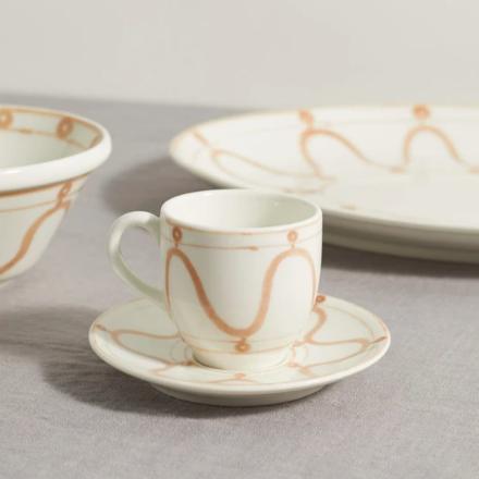 Serenity swirl porcelain espresso cup, Themis Z, £35, MATCHESFASHION.COM