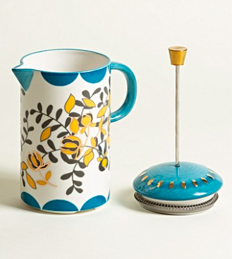 Zoloto China French Press Cafetière, £38.50, Oliver Bonas