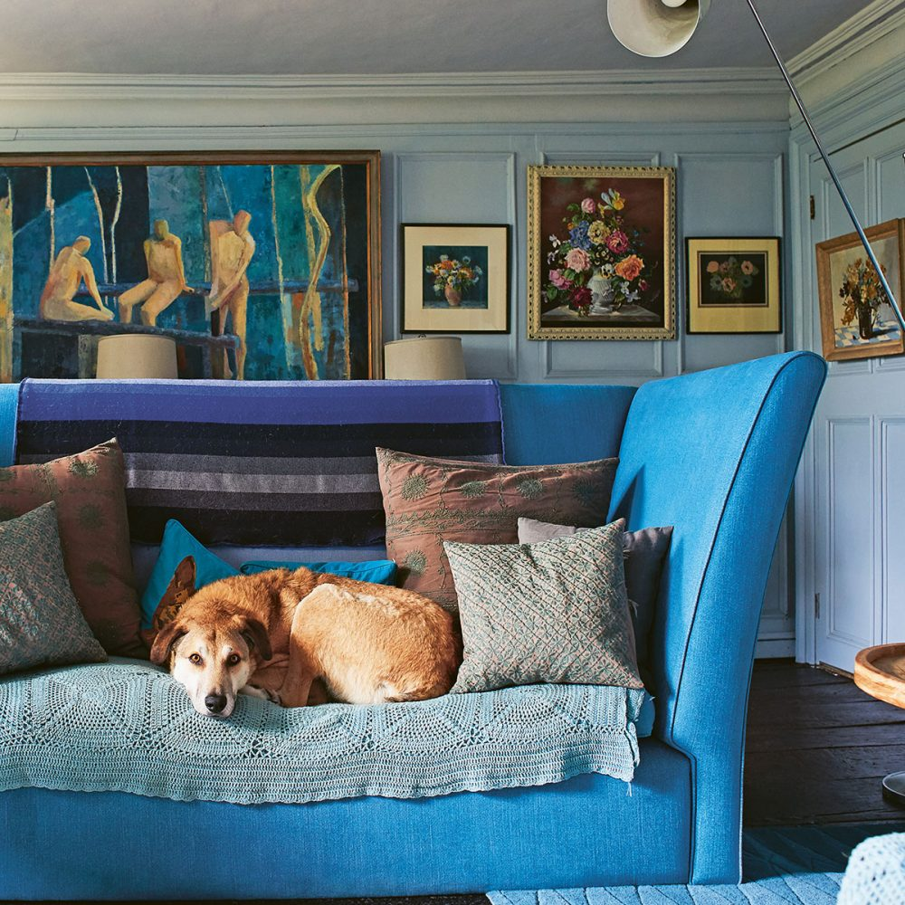 Nikki Tibbles' Vibrant and Dog-Friendly Country Home