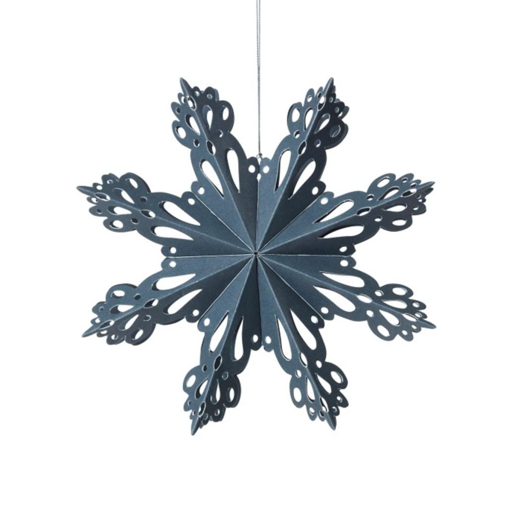 Broste Copenhagen Paper Snowflake Decoration, £12, Trouva