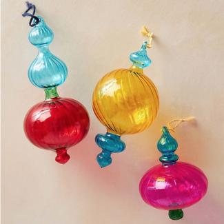 Gideon Glass Decoration, £12, Anthropologie