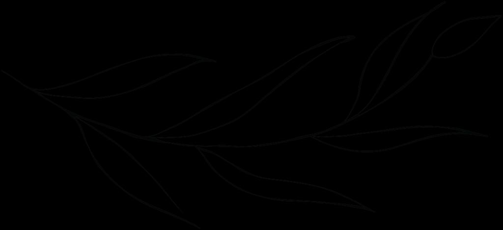 leaf illustration horizontal