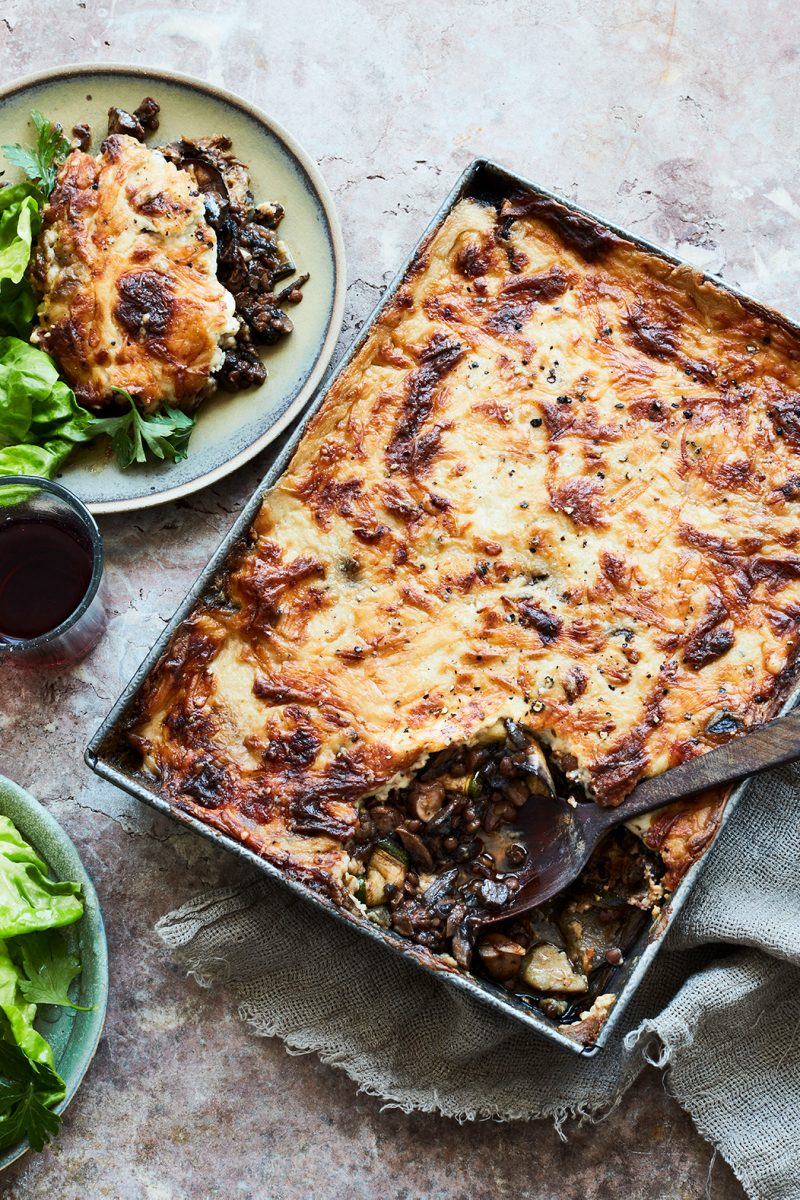 Meatless Moussaka from Rustica by Theo Michaels, Photography Mowie Kay © Ryland, Peters & Small