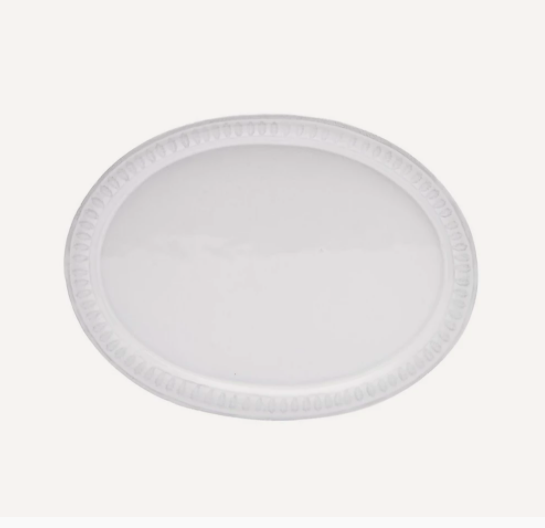 Astier de Villatte Claudine oval platter, £60, Liberty London