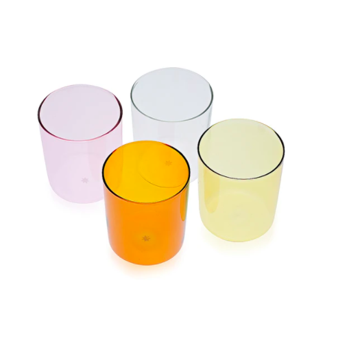 Maison Belzac set of 4 glass tumblers, £65, Pentreath & Hall