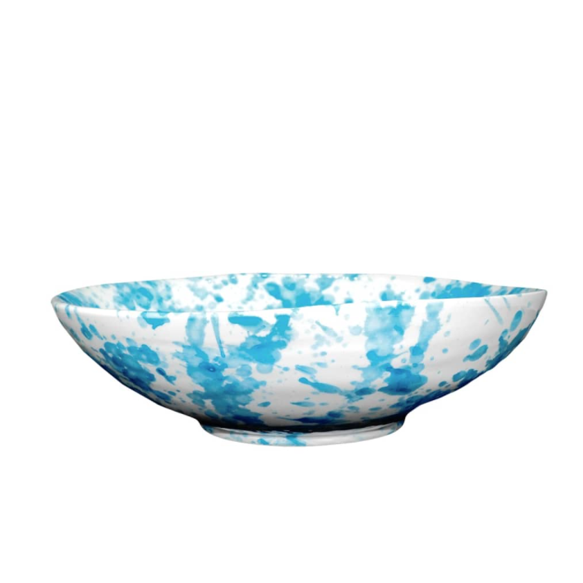 The Mill Ceramics Sky Blue Speckle Breakfast Bowl, £10, Wolf & Badger