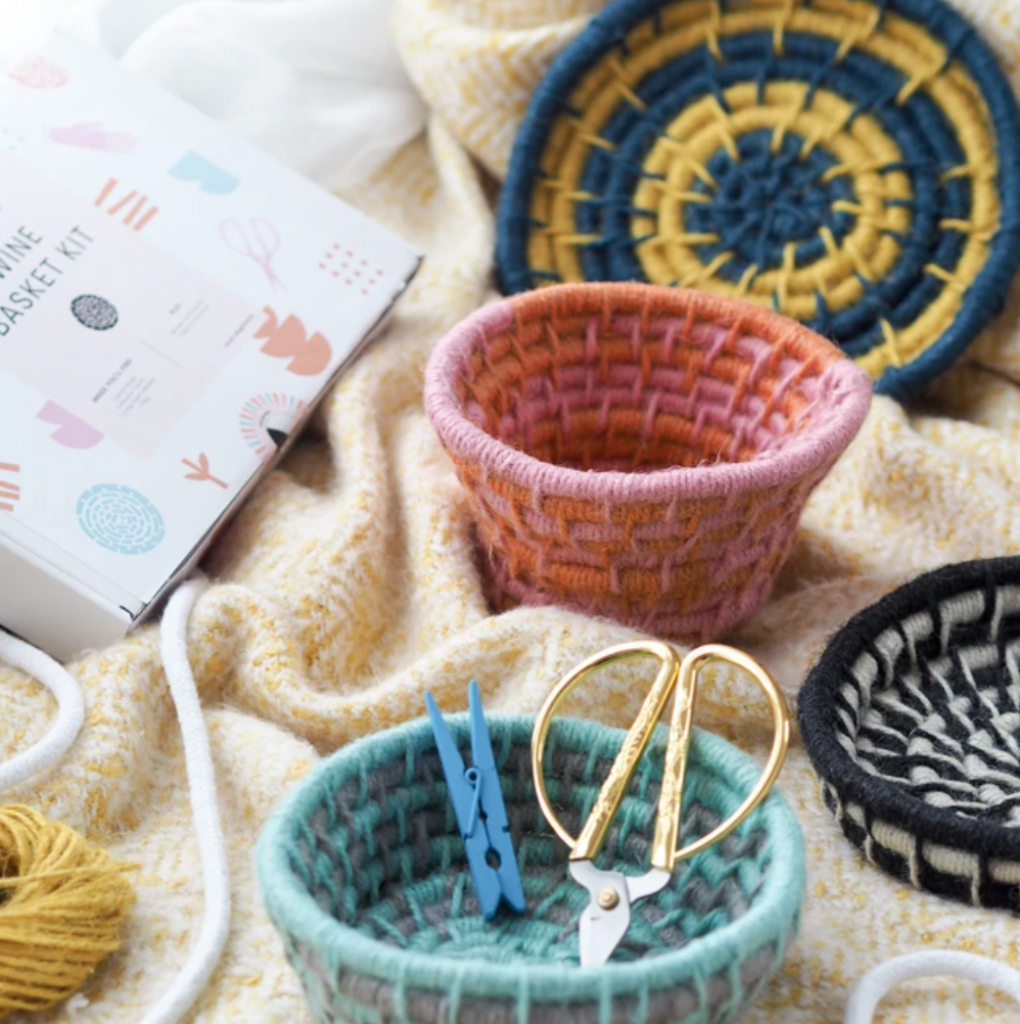 Twine basket kit, £26, La Basketry