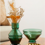 small green glass vase MATCHESFASHION