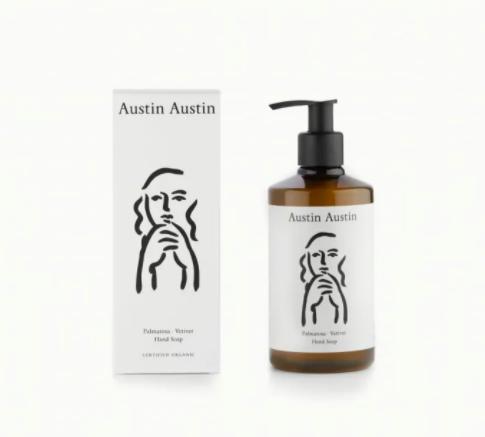 Austin Austin Palmerosa & Vetiver hand soap Trouva