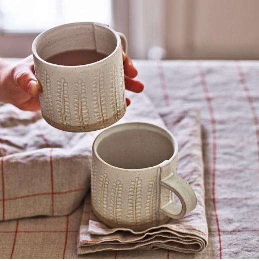 handmade stoneware mug Rowen & Wren