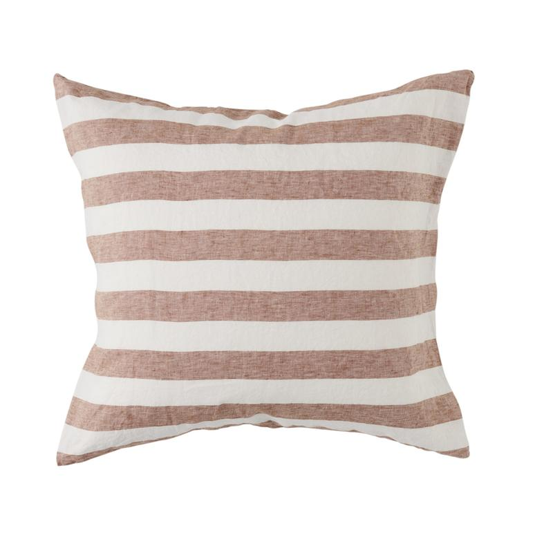 Tobacco stripe cushion Society of Wanderers