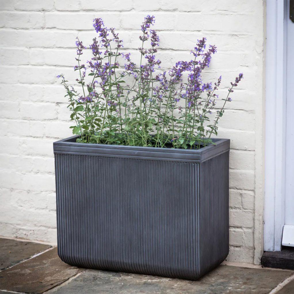 Bathford rectangular planter, £75, Garden Trading