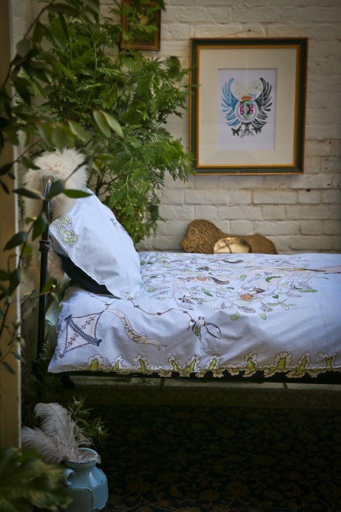 Forivor organic children's bedding The Enchanted Forest Duvet Set © Jon Gorrigan