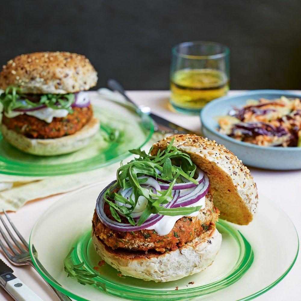 Katy Beskow's Speedy Chickpea Burgers