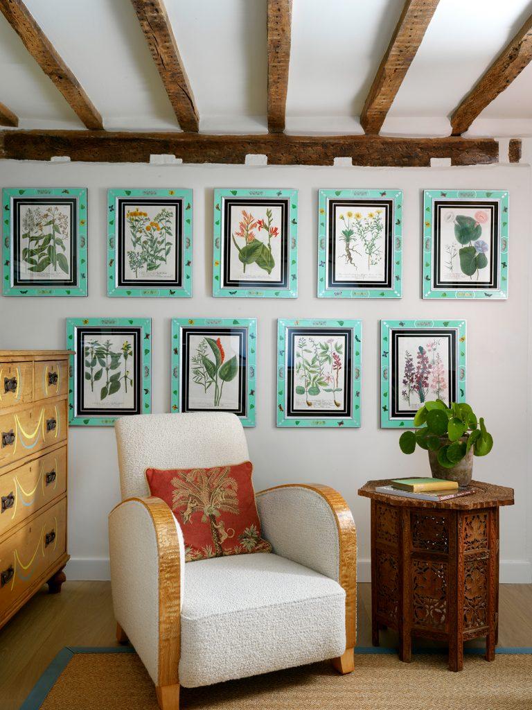 Beata Heuman Every Room Should Sing frames © Simon Brown, Rizzoli